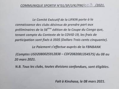 Document officiel